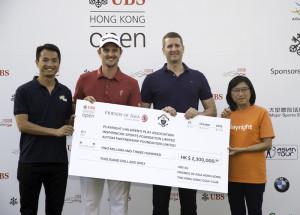 HK Open golf Friends of Asia